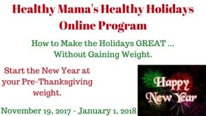 Healthy Holidays Program Info